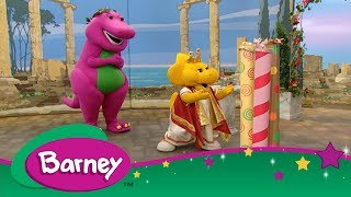 Barney 📖 Barney's Travel Book: Greece 🏛️ Let's Go on Vacation ✈️
