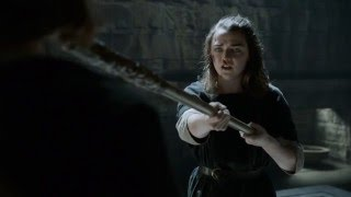 Game of Thrones Season 6: Episode #3 Clip - Arya's Training (HBO)