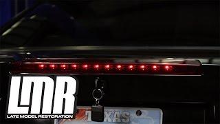 Mustang LED Third Brake Light Installation: 99-04 ( SN95 )