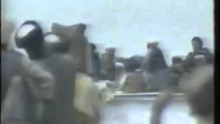 Mullah Omar Raising Prophet's Cloak