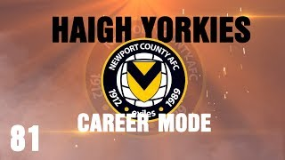 Fifa 14 - Career Mode Newport County - Part 81 - Let's Hold Hands!