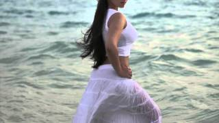Charmme Kaur Showcasing Her Curves In a Wet White Dress In Her Latest Beach Photo shoot