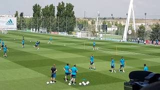Real Madrid open training for Champions League final | Entrenamiento Real Madrid