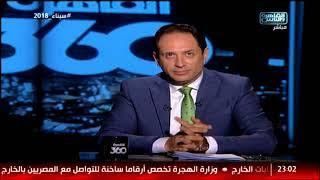 القاهرة 360| أبرز أحداث الأسبوع في أرقام