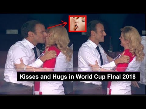 Xxx Mp4 Croatian President Kolinda Grabar Kitarovic Kisses And Hugs In World Cup Final 2018 3gp Sex