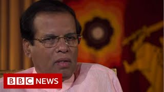 Sri Lanka president: IS 'chose Sri Lanka to show they exist' - BBC News