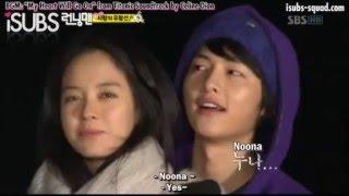 Song Joong Ki and Song Ji Hyo Love's Cruise (Running Man ep 18 CUT)