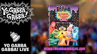 Yo Gabba Gabba! Live! There's a Party in my City NOW ON DVD!