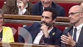 Roger Torrent (ERC) es elegido presidente del Parlament de Catalunya