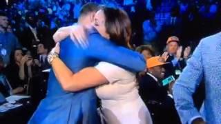 Shabazz Napier Grabs Mom's Boob