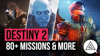 DESTINY 2 NEWS | 80+ Missions, Timed Nightfalls & Energy Weapon Changes