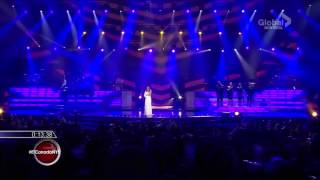 Celine Dion Loved me back to life New Year's Eve HD 2013