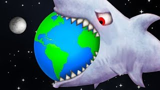 THIS SHARK ATE THE ENTIRE PLANET! (Tasty Blue)