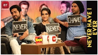 Bareilly Ki Barfi | Kriti Sanon, Ayushmann & Rajkumar Reveal FASCINATING SECRETS | Never Have I Ever