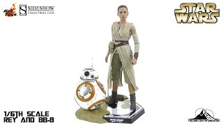 Hot Toys Star Wars REY and BB-8 Video Review