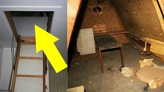 Students Discovered An Old Secret Room In Their Attic. What They Found Inside? Incredible