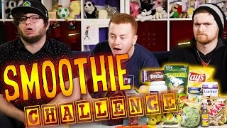 THE SMOOTHIE CHALLENGE w/ Sky, Red and Max