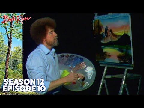 Bob Ross Mountain at Sunset Season 12 Episode 10