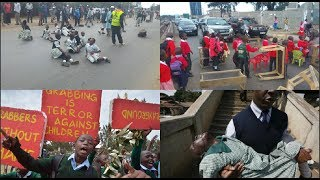 Children on the front lines of protests in Kenya, do they have a place?