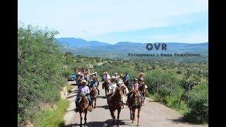 Cabalgando Camino a La Cuchilla, Jimenez del Teul, Zac., con Tamborazo Milpillas de la Sierra