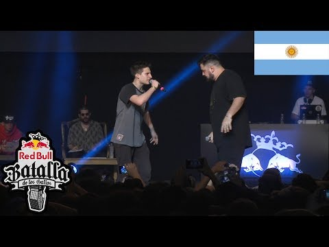 WOS vs PAPO Cuartos Final Nacional Argentina 2017 Red Bull Batalla de los Gallos