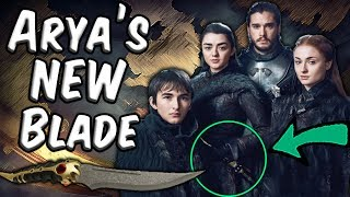 Arya Has A New Weapon... And It's Valyrian Steel!