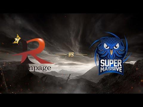 Rampage ( RPG ) vs SuperMassive eSports ( SUP )   MSI 2017 Ön Eleme 1. Gün