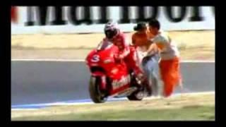 Rossi vs Biaggi 2001