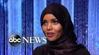 Muslim Woman Wears Hijab in Beauty Pageant