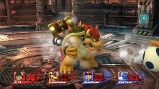 N V D 4: Hammer Slam Bowser vs Blue Yoshi