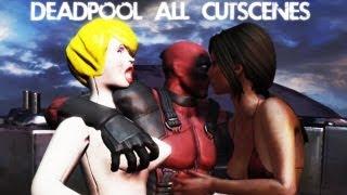 Deadpool All Cutscenes (Game Movie) 1080p HD