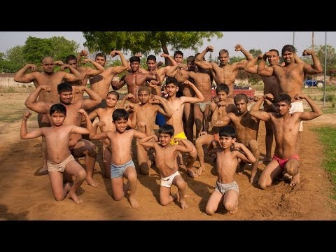 India's Village of Bodybuilding Musclemen