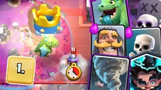 Clash Royale - #1 DECK IN THE WORLD!