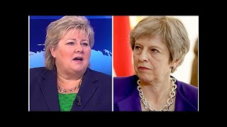Norway PM admits UK could become new SUPERPOWER but warns May must RESPECT referendum