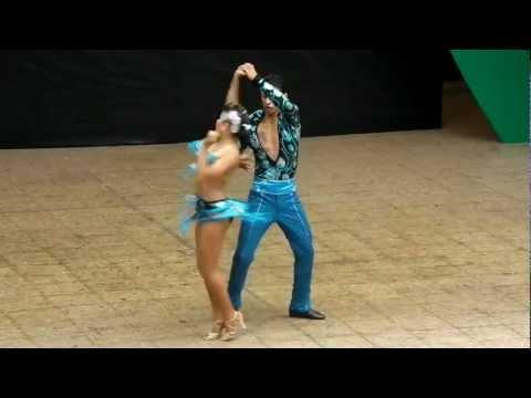 Jefferson Benjumea y Adriana Avila Eliminatorias Del Mundial De Salsa Cali 2012