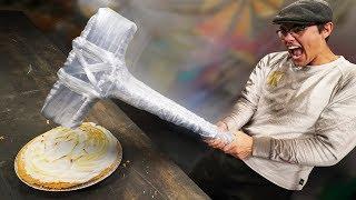 DIY Insane Saran Wrap Weapons!