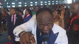 Apostle Suleman gets angry