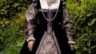 Dressing up an Elizabethan lady  1570-80
