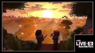 GOD RAYS FOR MINECRAFT! Super Duper Graphics Pack Details - YouTube Live at E3