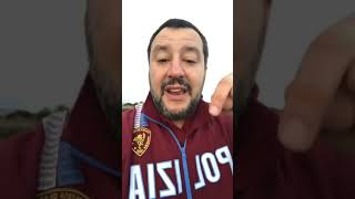 """Salvini su scafisti: """"ancora sporchi traffici, le persone muoiono. Ma il cattivo sono io"""""""