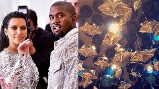 Kardashian-Jenner Family Throw Welcome Home Party For Kanye & Saint's 1st B-Day
