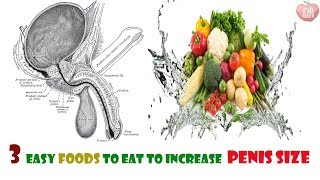Top 3 foods that enlarge your penis naturally /how to increase pennis size natural way