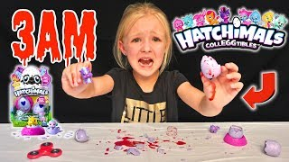 Do Not Hatch Hatchimals Colleggtibles at 3AM *OMG* So Scary!!!
