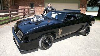 Mad Max Fan Recreates Original Interceptor Car