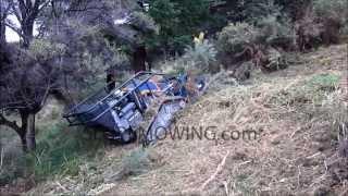 www.slopemowing.com: RC multifunction machine IRUS DELTRAK 2.0 with forest mulcher