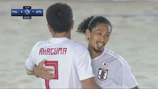 #AFCBeachSoccer Thailand 2019   M27   SF1   Japan vs  Palestine
