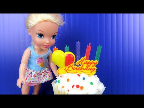 Xxx Mp4 Elsa S BIRTHDAY Party Elsa And Anna Toddlers Party With Friends Surprise Gifts Cake 3gp Sex