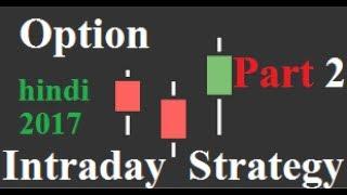 Nifty Option Intraday Strategy ( Part 2) | Hindi | 2017