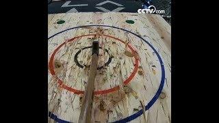 الطريقة الجديدة لإزالة الضغط -- رمي الفأس|CCTV Arabic