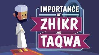 Importance of Zhikr and Taqwa | illustrated | Nouman Ali Khan